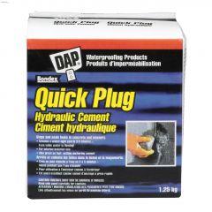 Quick Plug 1.25 kg Box Grey Hydraulic Cement