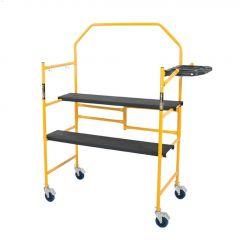 4' 500 lb Mini Folding Jobsite Scaffold Platform