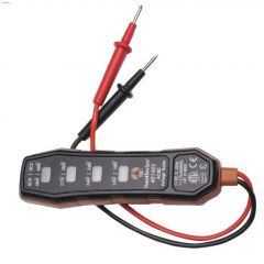 Plastic Copper/Black 4-Way Voltage Tester