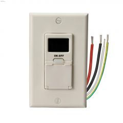 Outdoor 7 Day White Digital Timer