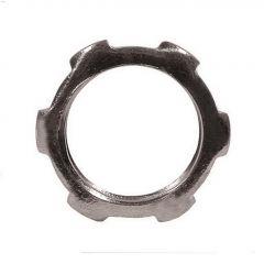 "1"" Steel Rigid Locknut-5/Pack"