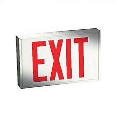 Emergi-Lite 1.5 Watt Wall/Ceiling Metal White LED Exit Sign