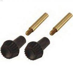 Bakelite Dark Brown Turn Knob-2/Pack