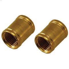 "1/8"" IPS Brass Coupling-2/Pack"