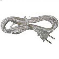 6' Clear Lamp Cord