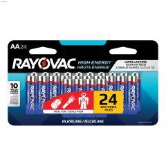 Rayovac Alkaline AA Battery-24 Pack