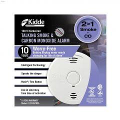 120VAC Worry-Free Smoke & CO Alarm