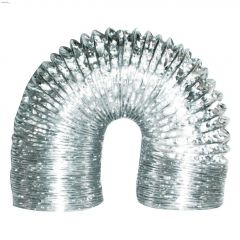 "4"" x 8' Non-Insulated Flexible Foil Duct"