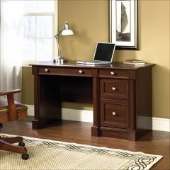 "Palladia 53-1/8"" Select Cherry Wood Computer Desk"