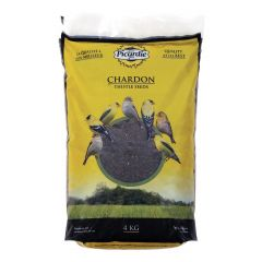 4 kg Treated Black Thistle Bird Seed
