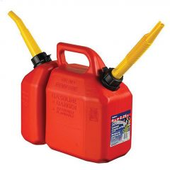 2-In-1 Combo - 6 L Gas & 2.25 L Oil Jerry Can