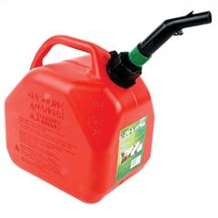 10 L Red HDPE Eco CARB Jerry Gas Can With CRC