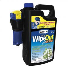 Total WipeOut 3 L Grass & Weed Killer With Battery Sprayer