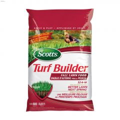 10.5 kg Scotts Turf Builder Fall Lawn Food