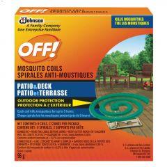 Off! Mild Pleasant Mosquito Coil