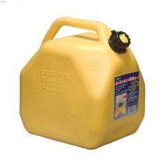 20 L Yellow Polyethylene Jerry Diesel Can