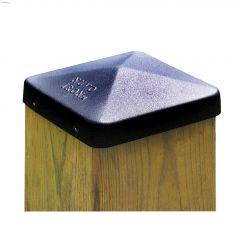 """Eazy Cap\u2122 5-1\/2\"""" x 5-1\/2\"""" Pyramid Ornamental Post Cap"""