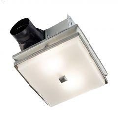 110 CFM Decorative Bathroom Fan Light