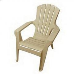 "27-1\/2\"" x 32\"" x 34\"" Resin Adirondack Chair"