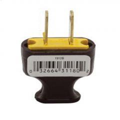 Plastic Straight Blade Plug 15A 125V 2P\/2W