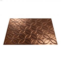 "24"" x 18\"" Rings Backsplash Panel"