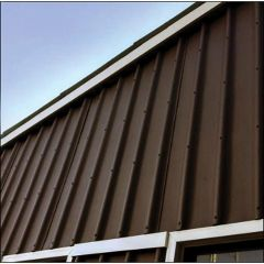 "Ondura 79"" x 44"" x 1/8"" Brown Roof Panel Sheet"