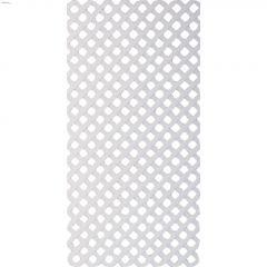 White Plastic Lattice 4' x 8'