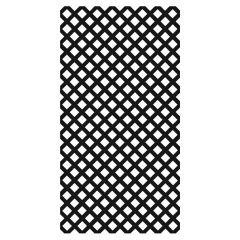 Black Plastic Lattice 4' x 8'