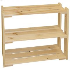 "30"" Econo Pine 3-Shelf"