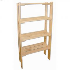 "60"" Econo Pine 4-Shelf"