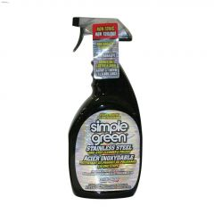 Stainless Steel One-Step Cleaner and Polish
