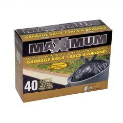 """26"""" x 32.5"""" Maximum Garbage Bag-40 Count"""