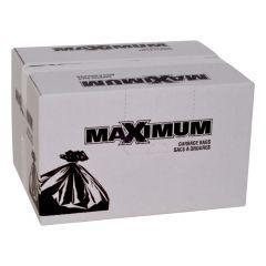 "Maximum Contractor Bag Clear 33"" x 45""-100 Count"
