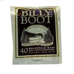 """Billy Boot Garbage Bag 26""""x36""""-40 Count"""