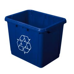 16 Gallon Recycle Blue Box