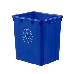 22 Gallon Recycle Blue Box