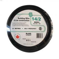 20m 14/2 Black Wire