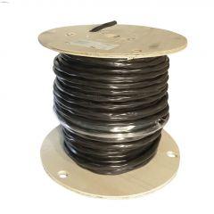 75m 10/3 Black Wire