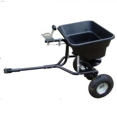 80 lbs Tow-Behind Spreader