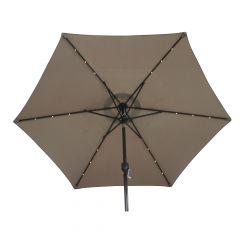 Market Umbrella With Lights
