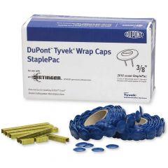 "3/8"" Tyvek Wrap Cap Staple Pack"