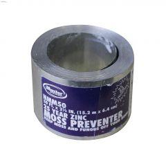 """2-5/8"""" x 50' Zinc Strip Moss Preventer"""
