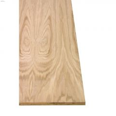 "3/4"" x 4' x 8' Oak Plywood Good 1 Side"