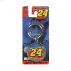 #24 Jeff Gordon Nascar Key Chain