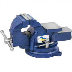The Workbench Series 4 Inch Machinist Swivel Bench Vise