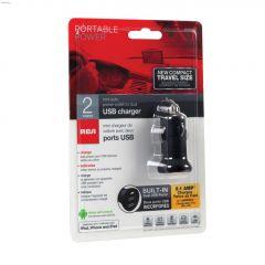 12 Volt 2.1 Amp Dual USB Car Charger