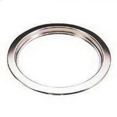 """6"""" x 1/2"""" Chrome Deluxe Universal Stove Ring"""
