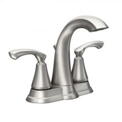 Spot Resist Tiffin High Arc Bathroom Faucet