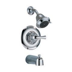 1-Handle Chrome Lever Classic Tub & Shower Trim