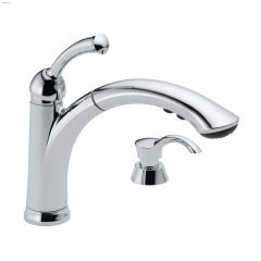 1-Handle Lewiston Pull-Out Kitchen Faucet